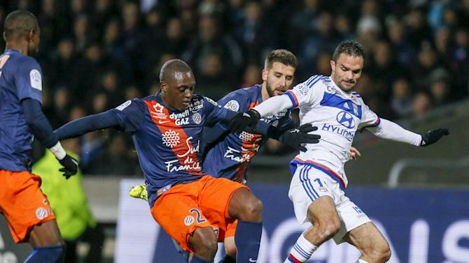 Olympique Lyon v Montpellier - French Ligue 1