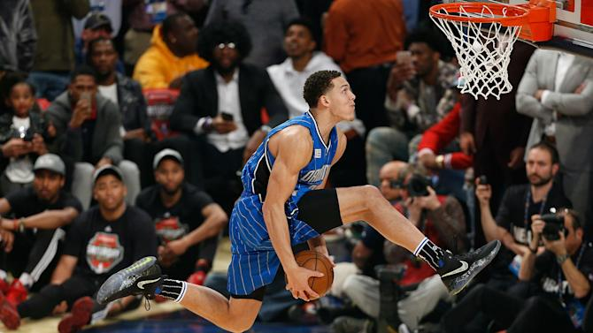 Aaron Gordon won't compete in 2018 Dunk Contest