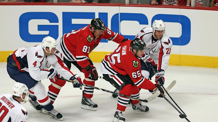 Washington Capitals v Chicago Blackhawks