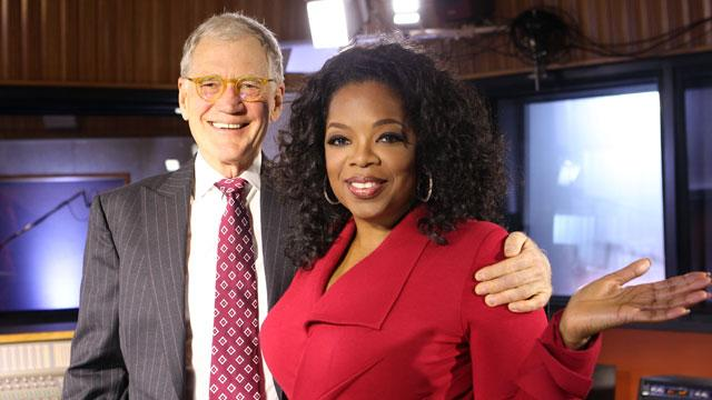 Letterman to Discuss Sex Scandal With Winfrey