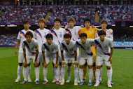 South Korea's national football team pose for a photo prior to their bronze medal match at the London 2012 Olympic Games, on August 10, at the Millenium stadium in Cardiff. S.Korea won 2-0
