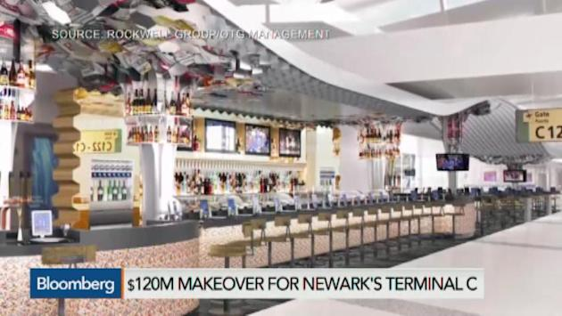Newark Airport Sees $120 Million Terminal Redesign
