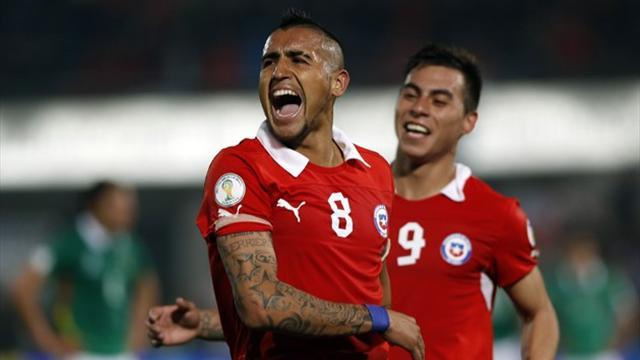 South American Football - Chile to play Brazil in friendly