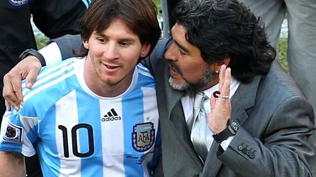 South American Football - Maradona: Messi is great, World Cup or not