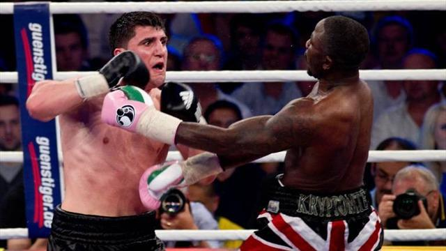 Boxing - Huck retains WBO title against Briton Afolabi in Berlin