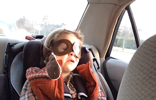 Christina Aguilera Makes A Little Boy Cry (Video) image christina aguilera little boy