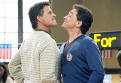 Ted McGinley and Scott Baio | Photo Credits: Lisa Rose/Nickelodeon