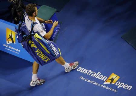 Dead battery led to Wawrinka losing Australian Open title