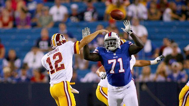 NFL - Bills re-sign defensive tackle Ross, Dolphins bring in Austin