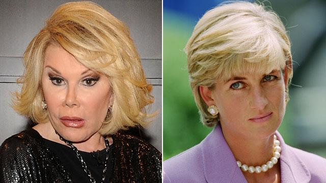 Joan Rivers Knocks Princess Diana, Shocks British Viewers