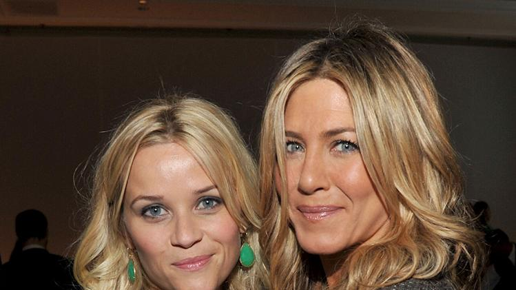ELLE's 18th Annual Women in Hollywood Tribute Reese Witherspoon Jennifer aniston