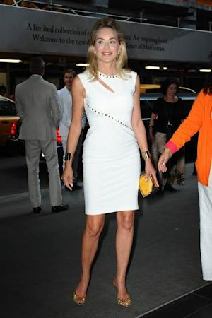 Sharon Stone attends the 'Lovelace' screening at The Museum of Modern Art on July 30, 2013 in NYC -- FilmMagic