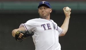 Harrison, Gentry lead Texas past Diamondbacks 1-0