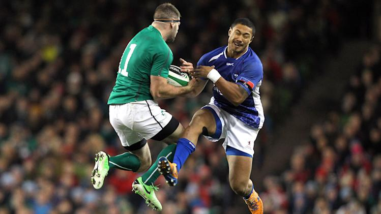 Ireland beat injury-struck Samoa 40-9