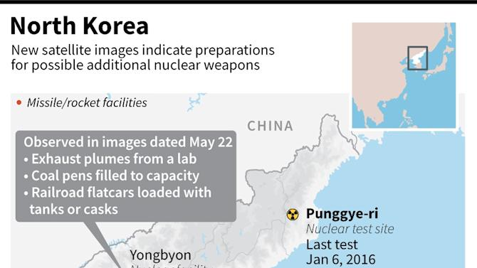 Signs of reprocessing at N. Korea complex