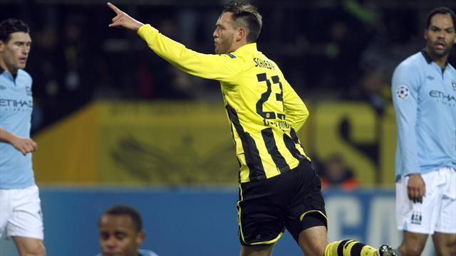 Champions League - Man City crash out of Europe with defeat at Dortmund