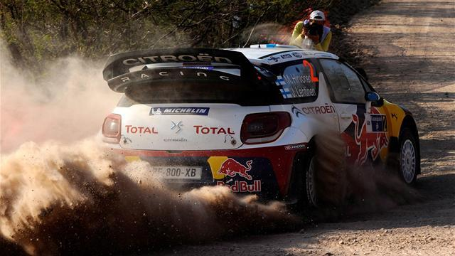 Mexico Rally - Hirvonen tops Mexico qualifier
