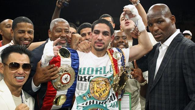 Boxing - Garcia to fight Matthysse, added to Mayweather v Canelo