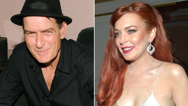 Sheen Says Lohan Never Thanked Him