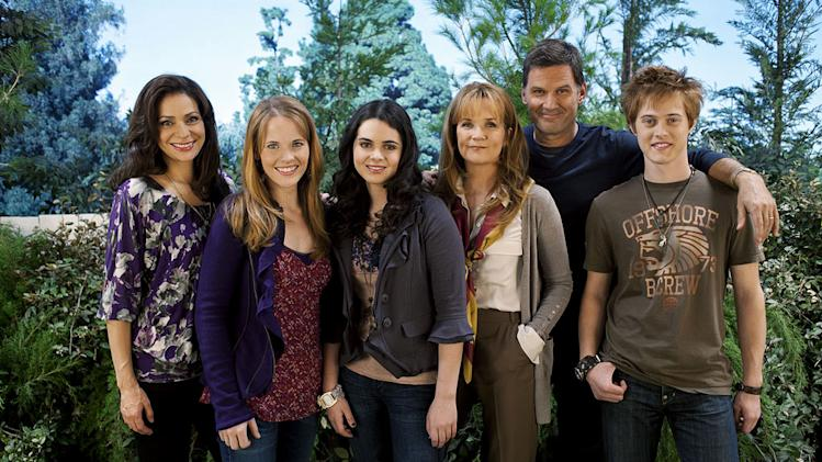 "The cast of ""Switched at Birth."""