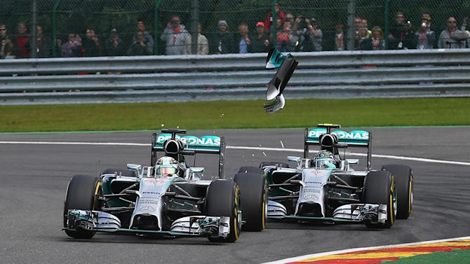 Formula 1 - Rosberg: Crash with Hamilton was my fault