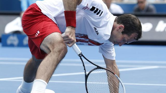 Australian Open - Injuries rife at Aussie Open despite shorter season