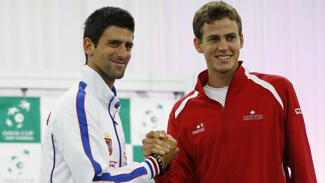 Davis Cup - Djokovic, Nadal, Murray shine on national duty