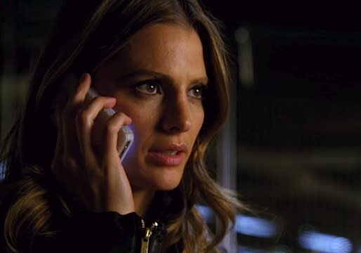 Exclusive Castle Finale First Look: Kate Says Those Dreaded Four Little Words to Rick