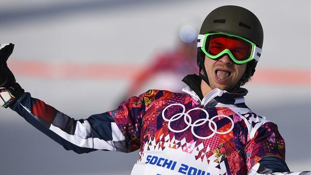 Snowboard - US-born Wild wins gold for Russia as wife gets bronze