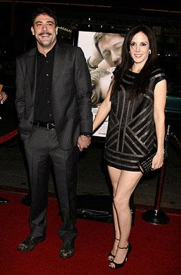 Jeffrey Dean Morgan and Mary-Louise Parker at the Los Angeles premiere of Warner Brothers Pictures' P.S. I Love You