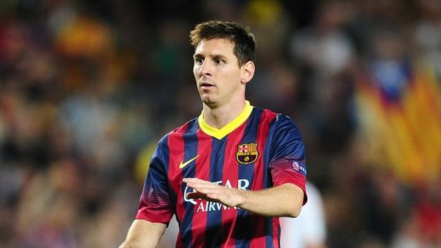 Football - Returning Messi makes an impact