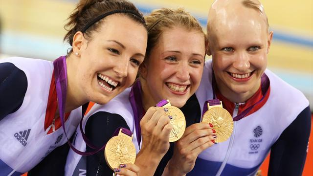 Cycling - Olympic champions power to new team pursuit world record