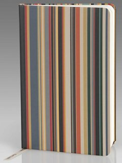 Paul Smith vintage multi-stripe pocket notebook
