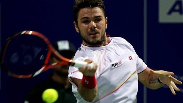 Stan Wawrinka en route to victory at ATP Chennai