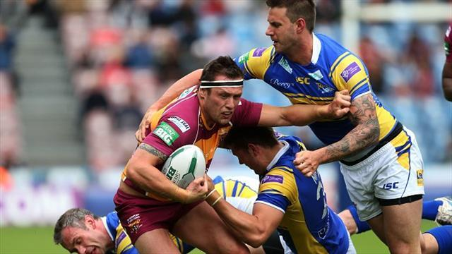 Rugby League - Lunt inspires Giants victory over Rhinos