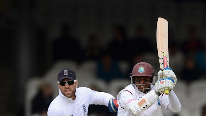 England v West Indies: 1st Test - Day One