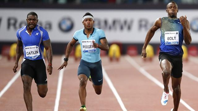 Athletics - Gatlin says win over Bolt is prelude to bigger things