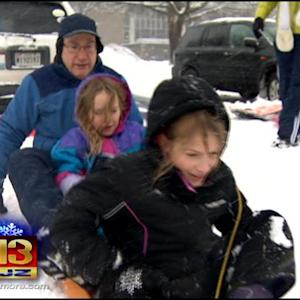 Md. School Districts Running Out Of Snow Days Fast