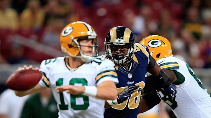 Green Bay Packers v St Louis Rams