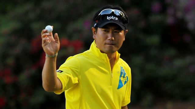 Golf - Yang and Watson set pace, Mickelson seven back