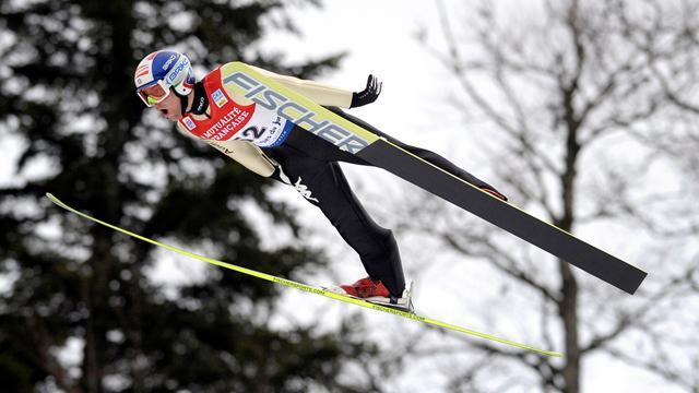 Nordic Combined - Pittin out again after breaking wrist