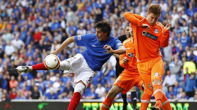 Scottish Football - Rangers suspend Sandaza over phone call with taxi driver