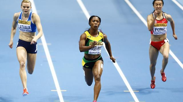 World Indoor Championships - Fraser-Pryce triumphs, US men set relay record