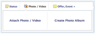 Facebook Posting Options   Beginners Guide image Screen shot 2013 01 31 at 1.57.10 PM