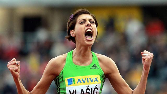 Athletics - Former world high jump champion Vlasic to miss Moscow