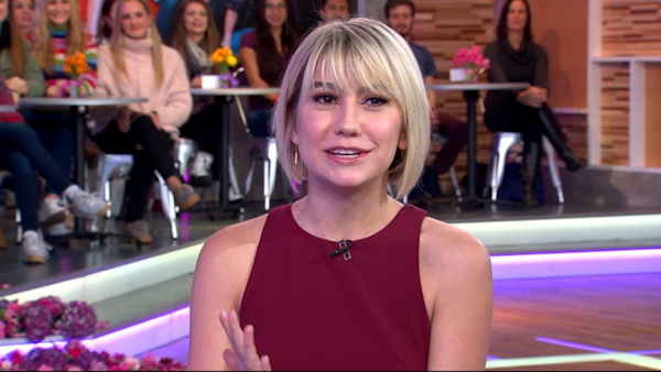 Good Morning America Live Tickets : Chelsea kane dishes on baby daddy live gma watch