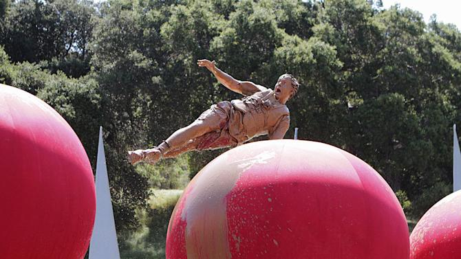 """A scene from """"Wipeout."""""""