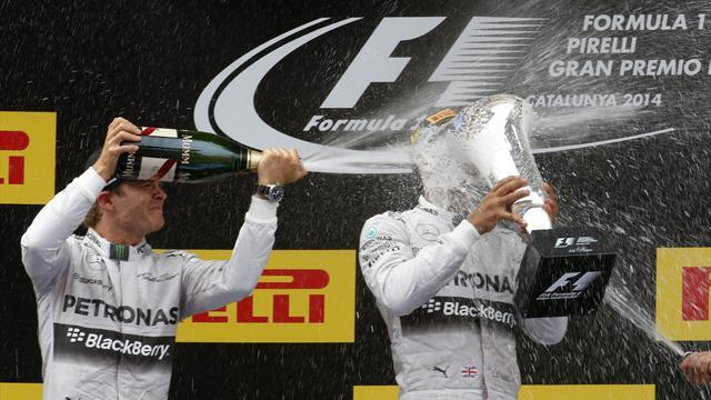 Formula 1 - Hamilton: Spanish GP 'out of comtrol'