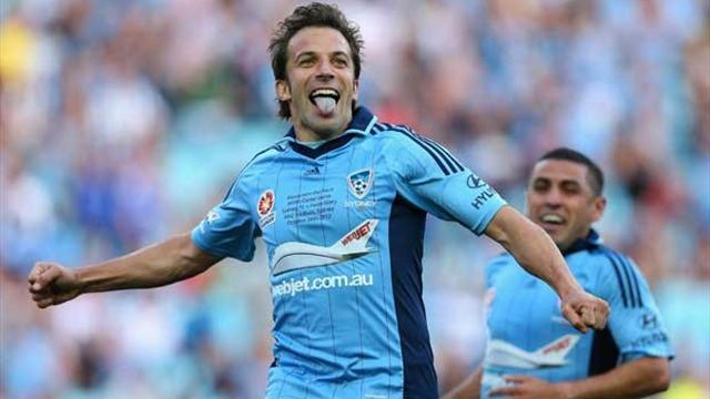 A-League - Del Piero-show: 4 gol al Wellington