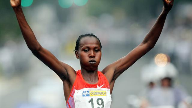 Athletics - Jeptoo faces tough challenge to keep her London crown